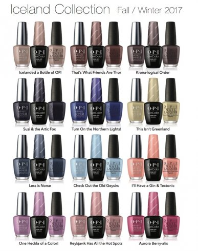 Iceland Collectie by OPI